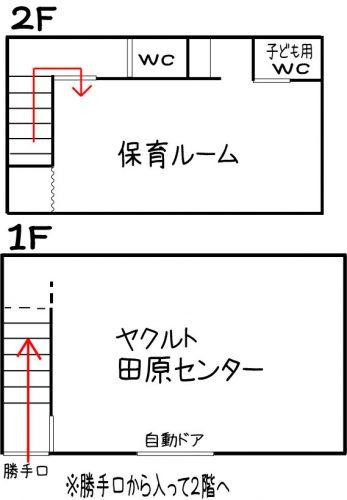 田原保育ルーム平面図